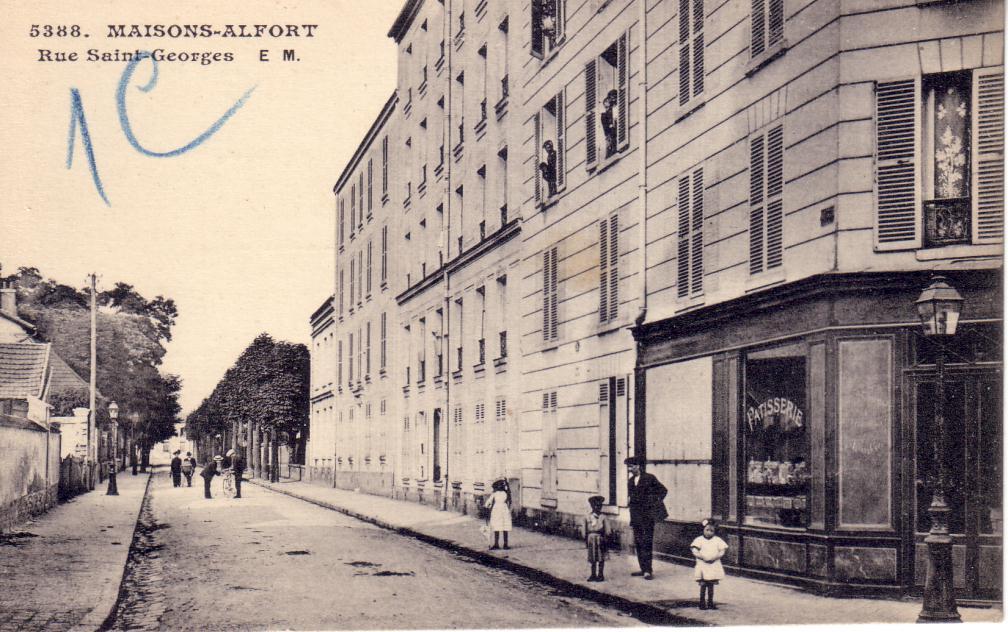 Bouangerie rue Saint-Georges