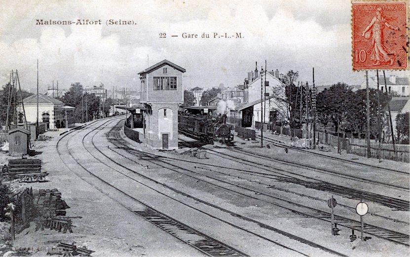 Gare de Maisons-Alfort - P.L.M.