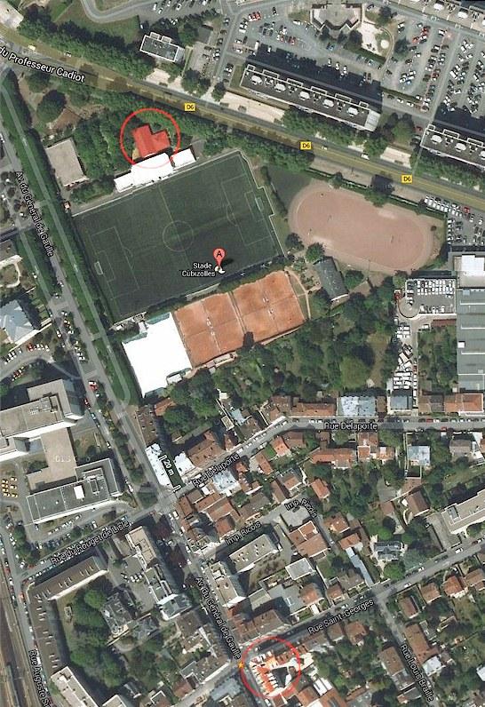 Salle du Temps Libre - Stade Cubizolles à 340m