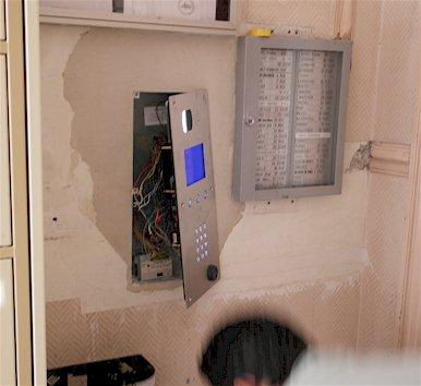 installations interphones programmés