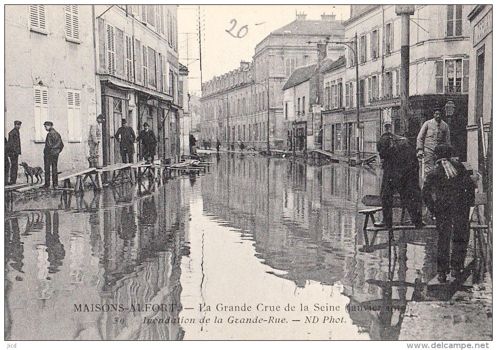 Maisons-Alfort 1910 Grande Rue
