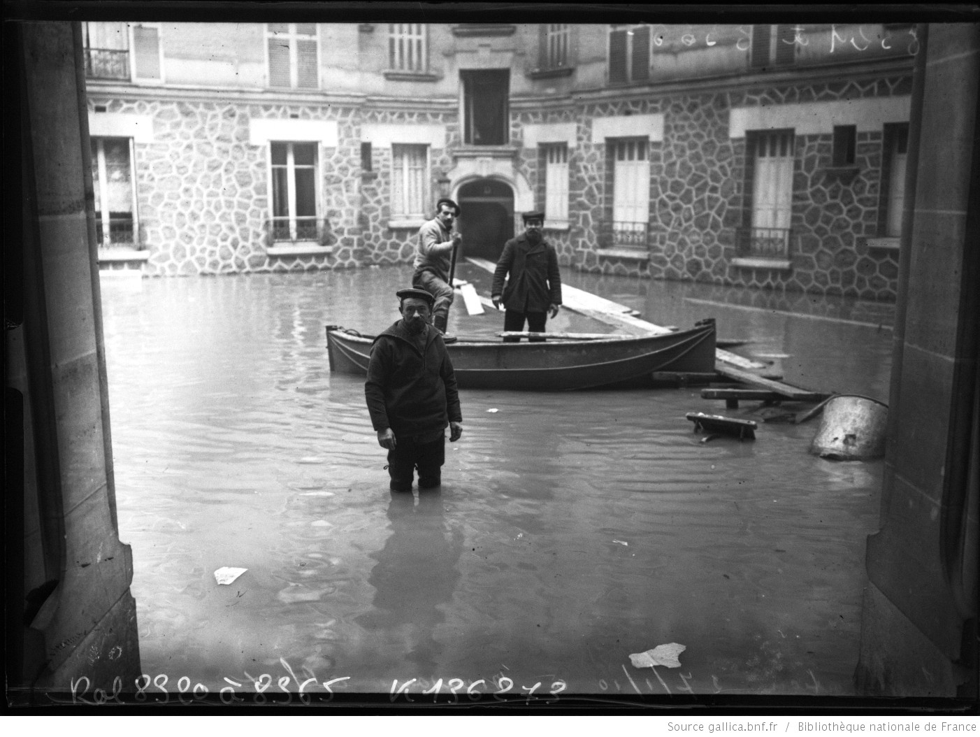 Innondations 1910 Maisons-Alfort